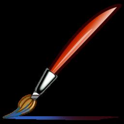 Paint Brush Writing