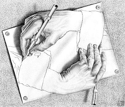 Graphic system game  Mani_che_disegnano_escher