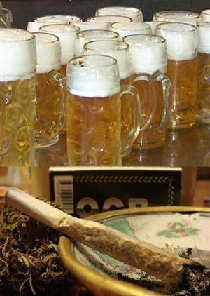 Alcol e cannabinoidi? Peggiorano la guida anche se nel limite alcolemico