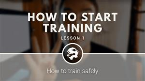 How to start training (free video course)