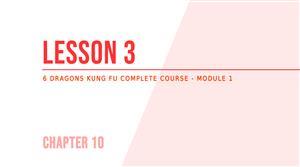 Lesson 3 - Hanging Speedball training