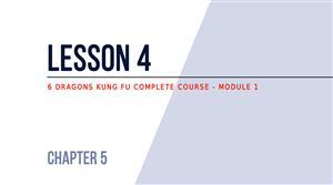 Lesson 4 - Kicks