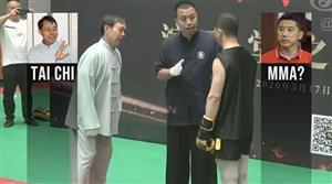 MMA vs Tai Chi 30 seconds knock out: Ma Baoguo