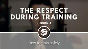 The respect during training (free video course)
