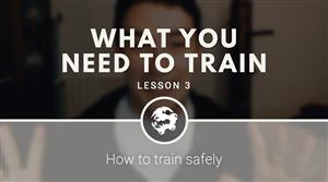 What you need to train (free video course)