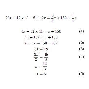 Arcadia club le equazioni di primo grado - Tavola di tracciamento secondo grado ...