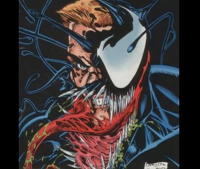 venom de marvel comic`s (y de yapa  carnage y toxin) a tambi