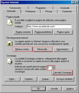 L'interfaccia di HDCleaner