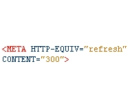 Auto-refresh in HTML