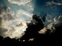 CLICK PER INGRANDIRE | TITOLO: Luce divina tra le nuvole