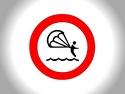 CLICK PER INGRANDIRE | TITOLO: Divieto sport acquatici