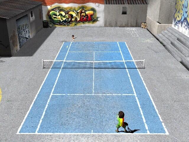 لعبه Street Tennis